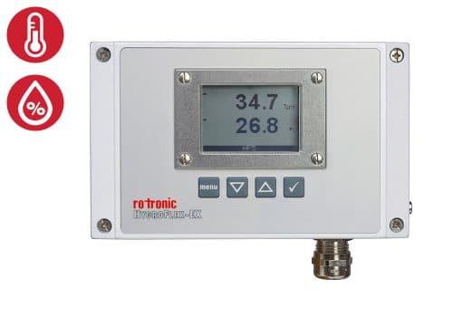 Rotronic HF5-EX display