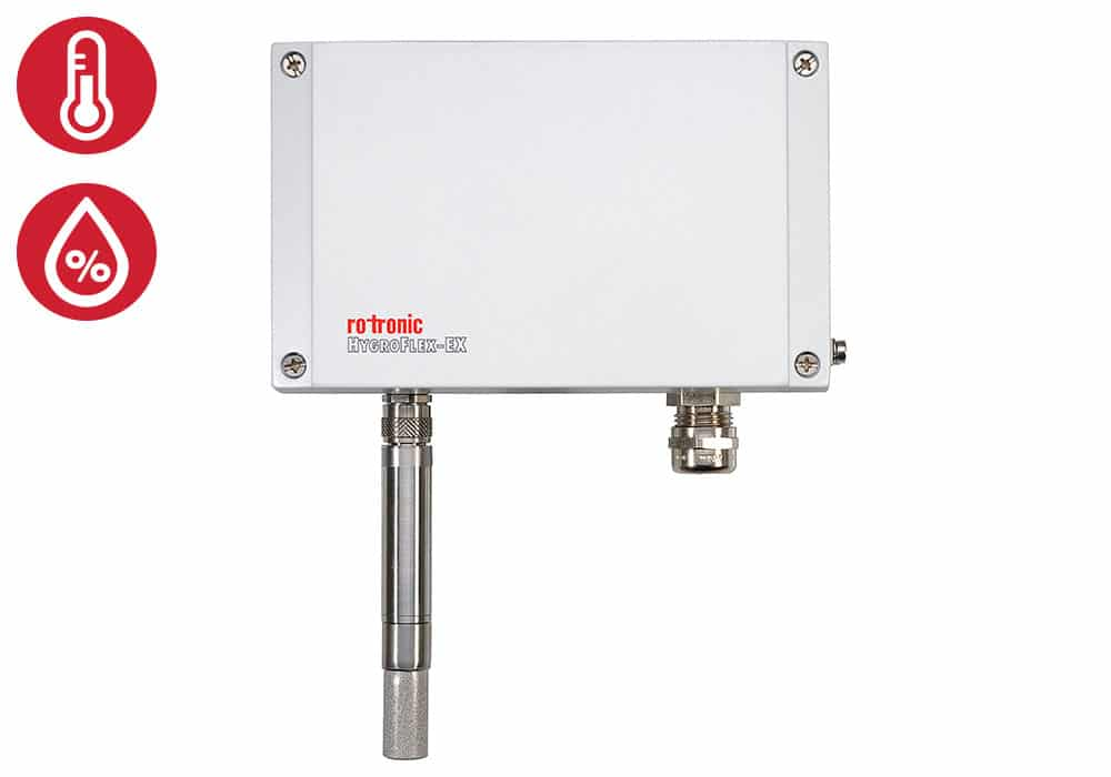 Rotronic HF5-EX no display