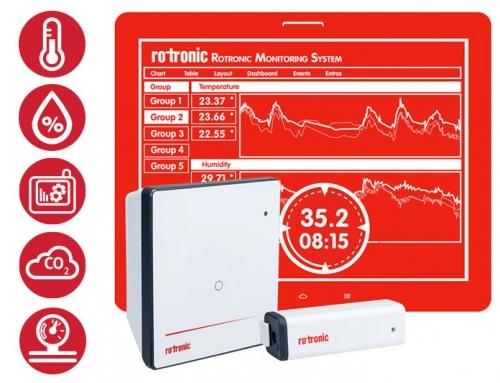 Nieuw van Rotronic: het Rotronic Monitoring System (RMS)